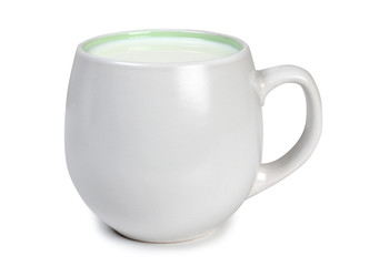 Cup with milk