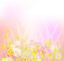 Bright spring background 2