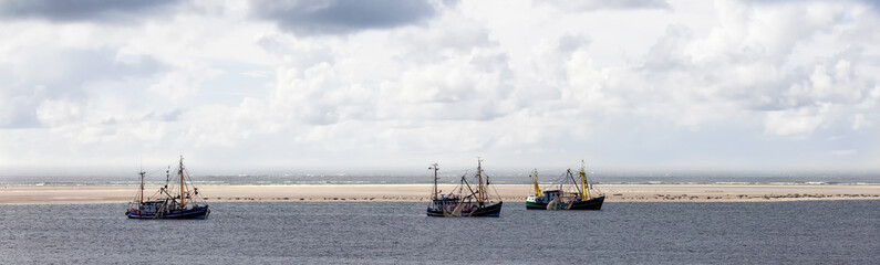 Krabbenkutter Panorama