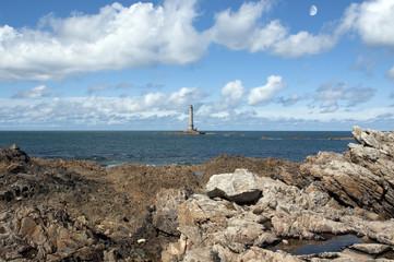 Fototapete - France, Cap de la Hague - Le phare