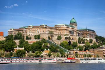 Keuken foto achterwand Boedapest Buda Castle in Budapest