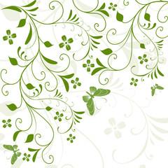 Floral,flora,grün,frühling,pflanze,blume,blumen,blatt,3d