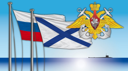 russian navy flag