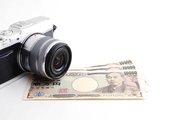 お金とカメラ
