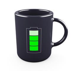 Recharge your batteries Concept