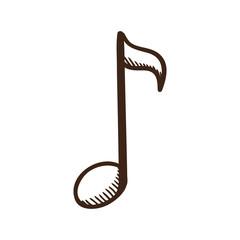 Music note symbol.
