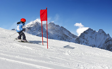 Ski School Slalom