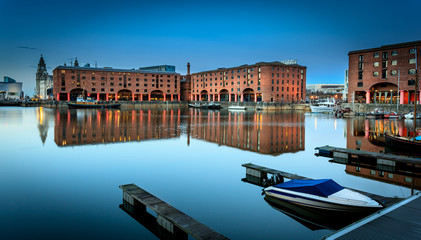 Fototapete - Albert dock liverpool