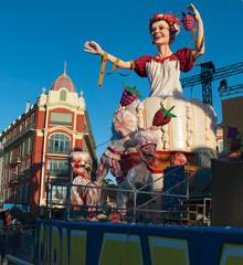 Reine du carnaval de nice