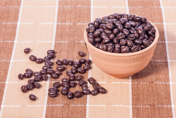 Peaberry coffee beans