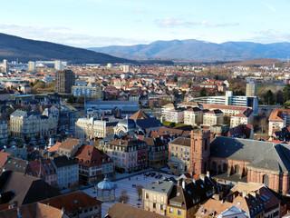 ville de Belfort vue globale