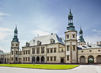 Bishops Palace in Kielce, Poland Wall mural