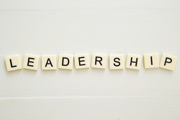 LEADERSHIP word