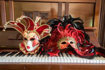 Face Masks Music Piano