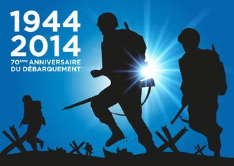 DEBARQUEMENT 1944-2014