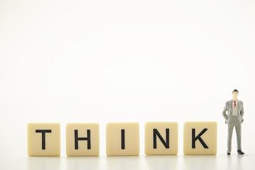 THINK word