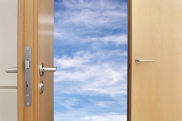 offene Tür Frischluft © Matthias Buehner