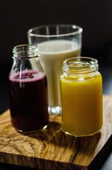 Juices And Fruit Milkshake On Board