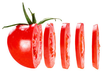 Fototapeta sliced tomato obraz