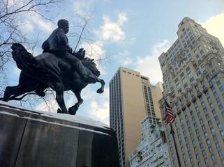 Monumento a Jose Martí en Central Park, New York