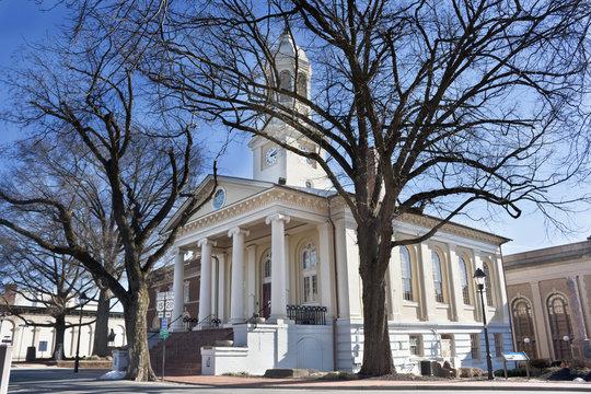 Courthouse in historic Warrenton, Virginia