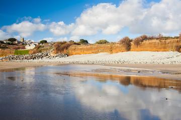 Perranuthnoe Beach Cornwall England