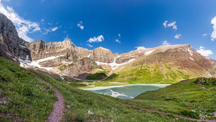 Cracker lake trail, Glacier national park