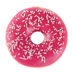 Doughnut in pink glazed