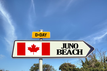 France, Normandy - d-day - Juno beach