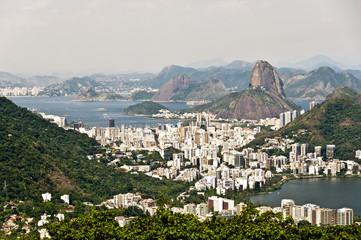 Skyline Rio de Janeiro, Brazil