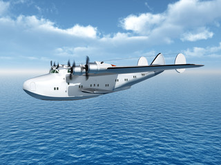 American Flying Boat Airliner from the second world war