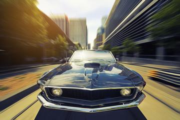 Obraz Vintage Cabriolet - fototapety do salonu