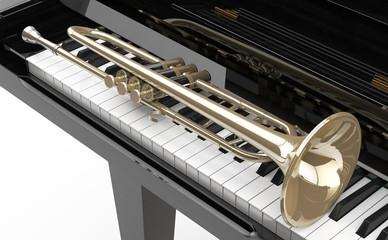 Piano y Trompeta