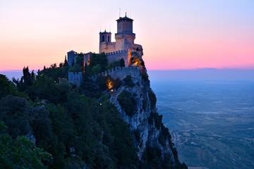 San Marino castle Fototapete