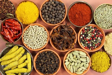 Photo sur Aluminium Spices