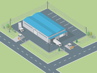 Isometric Warehouse