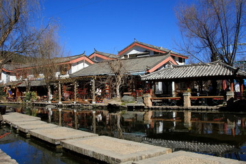 Shuhe Old town in China