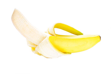 Banana's isolated on a white background