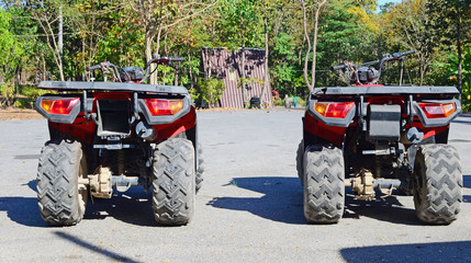 row of ATV