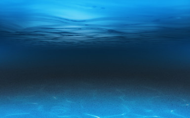 sea or ocean underwater background