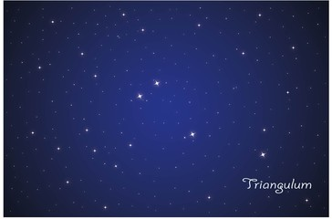 Constellation Triangulum