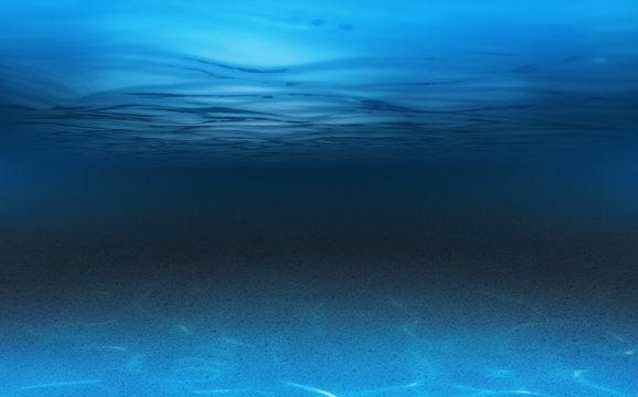 sea or ocean underwater background