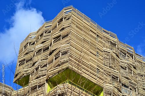 Immeuble cologique photo libre de droits sur la banque for Immeuble ecologique