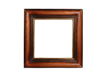ancient beautiful wood frame