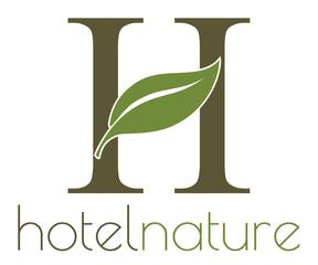 Hotel nature logo