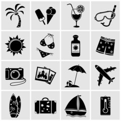 Vacation Icons - Vector