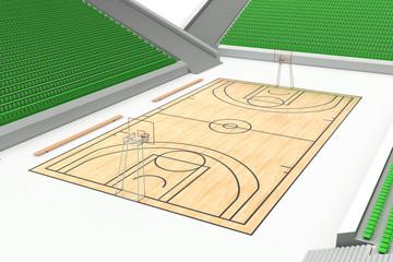 Basketball court #4