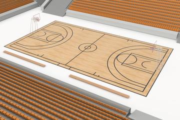 Basketball court #1