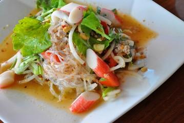 Thai food - Spicy mixed salad