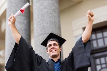 successful university graduate